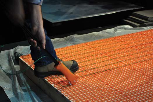 Une petite révolution dans l\'industrie du plancher chauffant ...